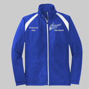 JST90.221.241.n <> Mens Tricot Track Jacket <> Pleasant Grove High School Color Guard