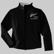L790.312.322.n <.> Ladies Glacier® Soft Shell Jacket <> Pleasant Grove High School Drumline with personalization