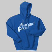 18500.13A1 <> Heavy Blend ™ Hooded Sweatshirt (Screen Printed) <> Pleasant Grove High School Band