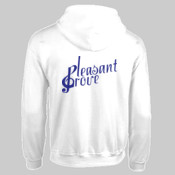18600.13B1A1 <> Adult Heavy Blend™ Full Zip Hooded Sweatshirt (Screen Printed) <> Pleasant Grove High School Band